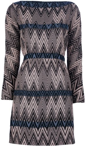 Cacharel Patterned shift dress