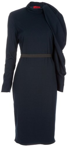Lanvin Shoulder drape dress