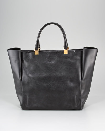 Lanvin Moon River Leather Tote Bag