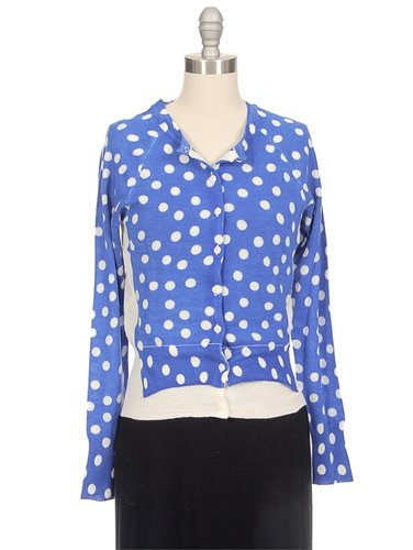 YOSHI KONDO Polka Dot Doctor Cardigan
