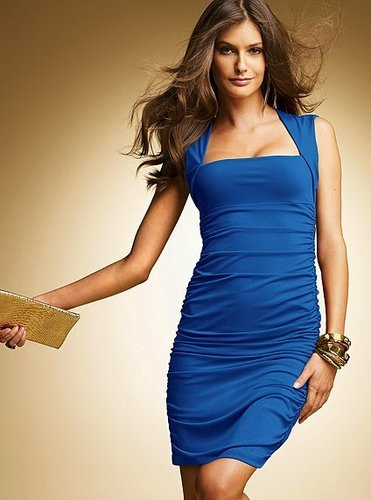 Sleeveless Squareneck Jersey Dress