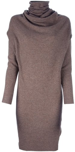 Lanvin Knitted sweater dress