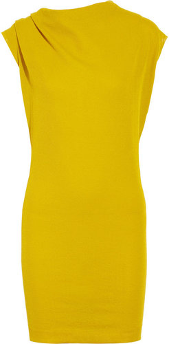 Lanvin Fine-knit cotton-blend dress
