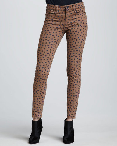 Splendid Polka-Dot Skinny Jeans