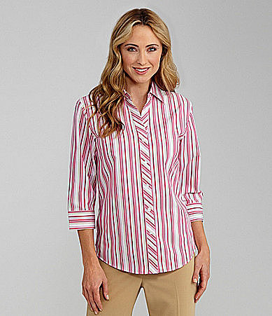 Westbound Easy Care Stripe Shirt