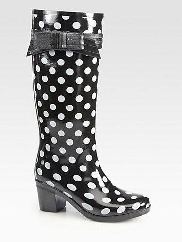 Kate Spade New York Randi Too Polka Dot Rain Boots