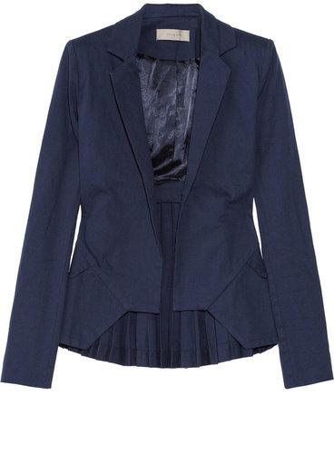 Preen Line Accordion stretch-cotton twill jacket