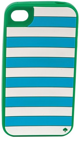 Kate Spade Candy Stripe iPhone Case