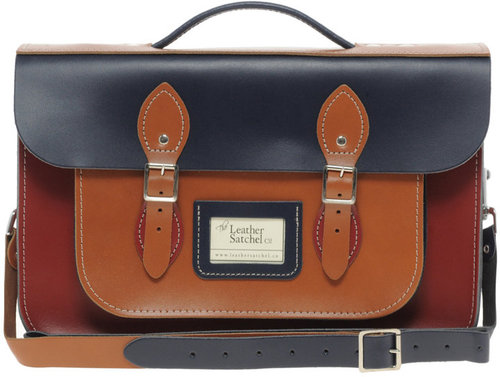 "The Leather Satchel Company 14"" Satchel"