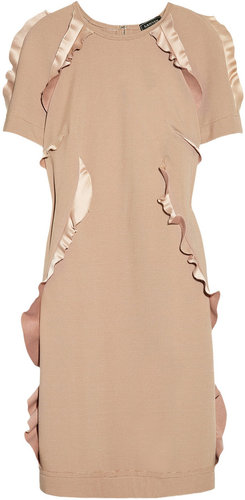 Lanvin Ruffle-trimmed jersey dress