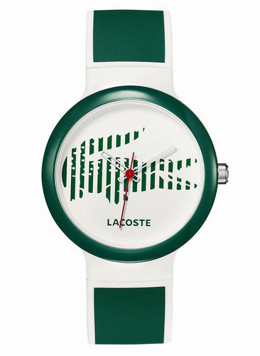 Lacoste Watch, Goa Green Silicone Strap 40mm 2010569