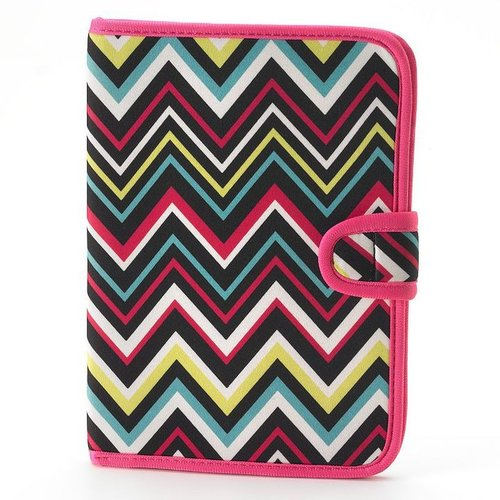 Chevron stripe e-reader case