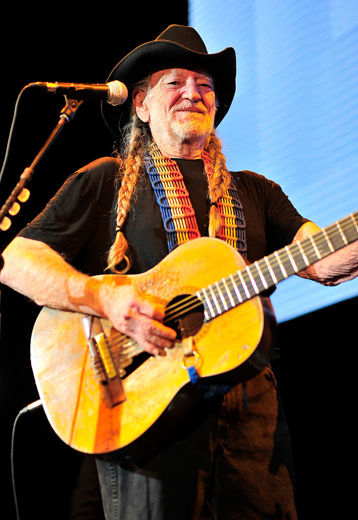 Willie Nelson performed at the event.