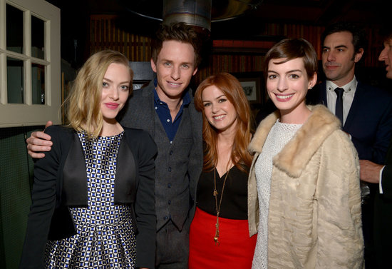Anne and Amanda Celebrate Les Mis With Sacha and Isla!