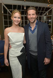 Jennifer Lawrence and Bradley Cooper attended a Vanity Fair celebration together.