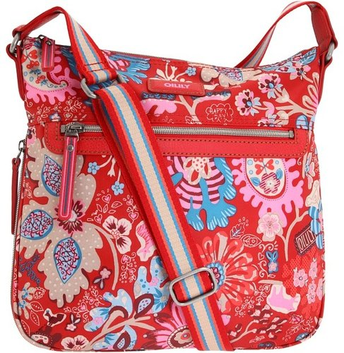 Oilily - Winter Leaves M Flat Shoulder Bag