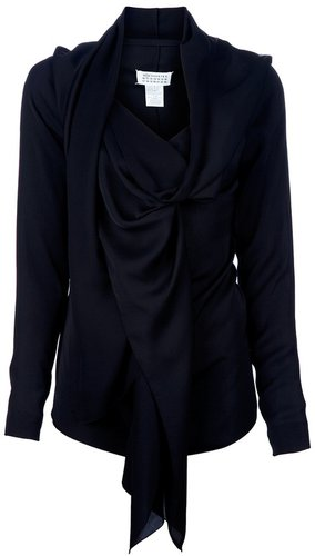 Maison Martin Margiela draped top