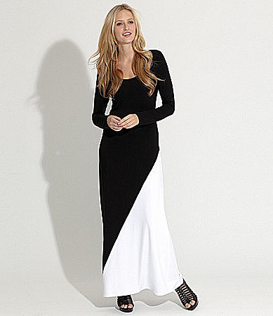 Karen Kane Long-Sleeve Maxi Dress