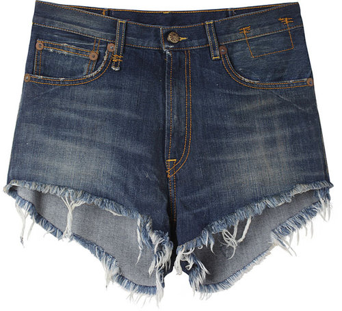 R13 / Relaxed Cut Off Shorts