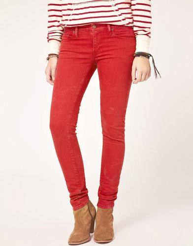 Denim & Supply By Ralph Lauren Red Skinny Jeans