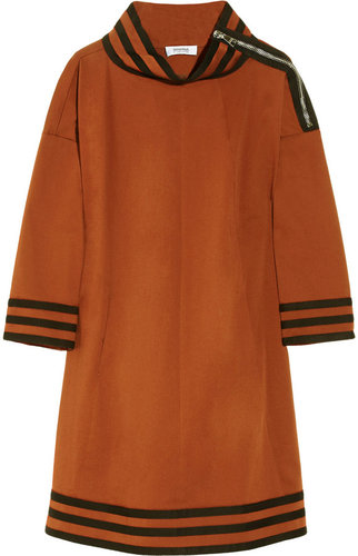 Sonia by Sonia Rykiel Stretch cotton-twill dress