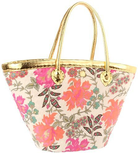 Z&amp;L Sundream Tote,Pink/Gold,One Size