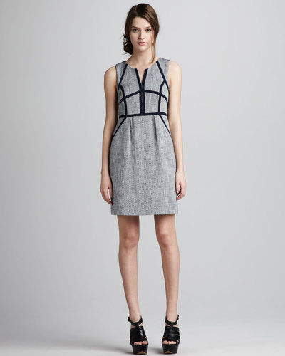 Shoshanna Christina Sleeveless Sheath Dress