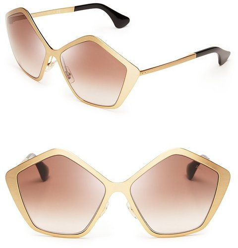 Miu Miu Oversized Star Sunglasses