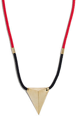 Noir® big dart necklace