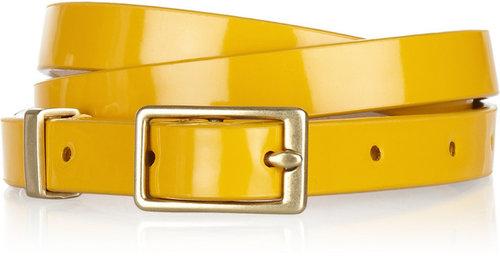 J.Crew Patent-leather belt