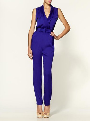 Rachel Zoe Edith Shawl Collar Jumpsuit