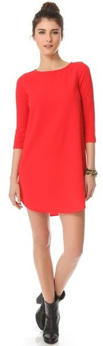 Bb dakota Noland Textured Shift Dress