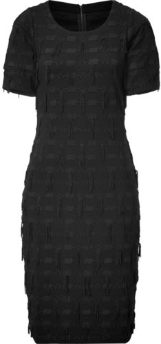 Marc by Marc Jacobs Black Fringe Frankie Dress
