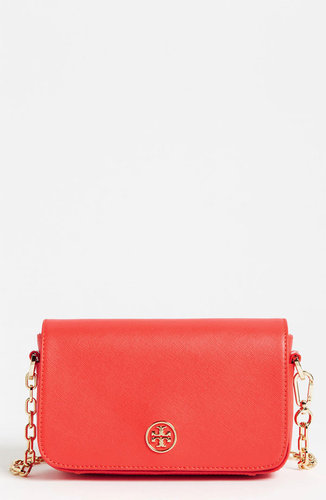 Tory Burch 'Robinson - Mini' Saffiano Leather Crossbody Bag