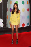 Jourdan Dunn wore Spring 2013 Balmain at the Brit Awards in London.