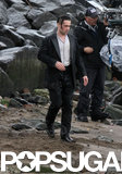 Colin Farrell took a dive into the East River while filming scenes for Winter's Tale in NYC on Tuesday.