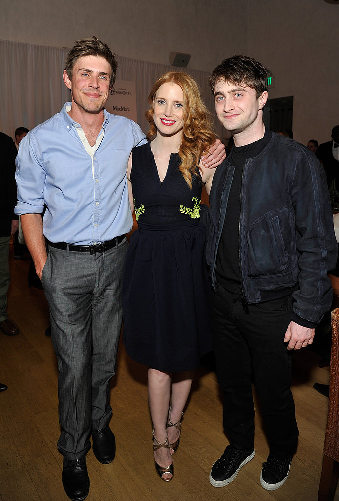 Jessica Chastain Reunites With The Help Cast to Party Pre Oscars