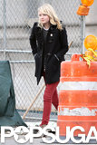 Emma Stone Spends a City Day Off From Spider-Man
