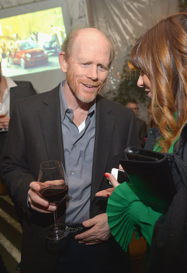 Ron Howard mingled with guests.