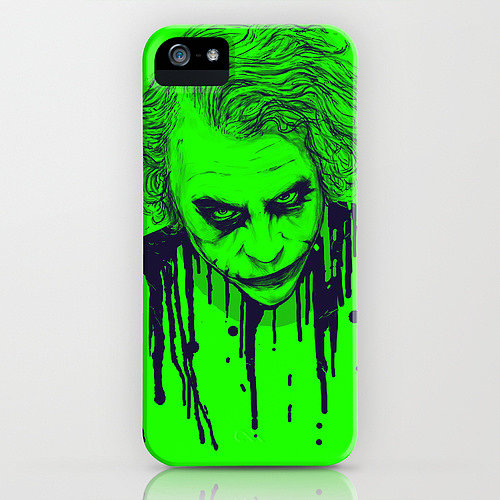 Commemorate Heath Ledger's unforgettable, chilling performance as The Joker with this iPhone case ($35).