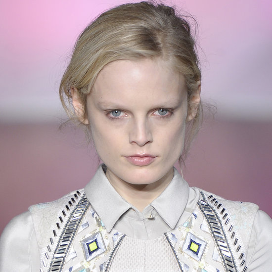 Big Brows and Sepia Makeup Tones Abound at Matthew Williamson