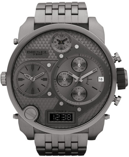 DIESEL Time Zone Oversized Bracelet Watch