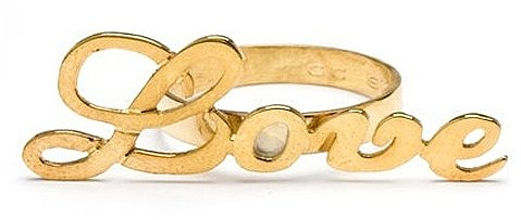 CC Skye Love Knuckle Ring