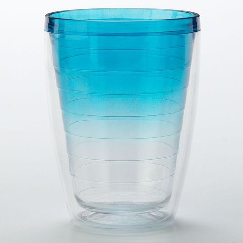 Sonoma life + style® blue mist insulated double old-fashioned cup