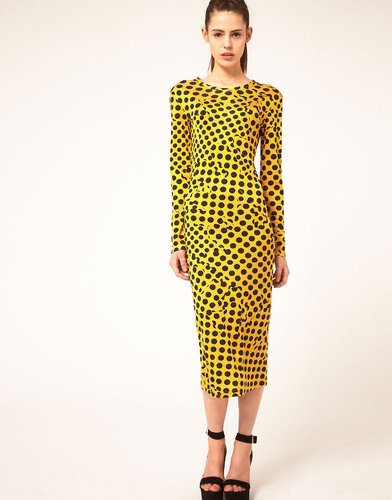 Danielle Scutt Dress In Polka Dot Print
