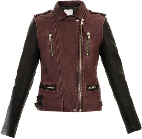 Iro Anabela leather biker jacket