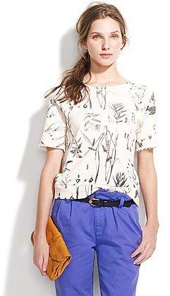 Flora sketch sweatshirt
