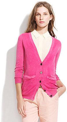 Colorwash cardigan