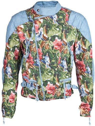 Horace floral biker jacket