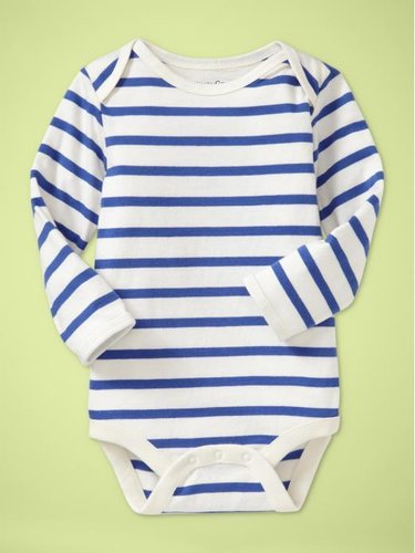 Classic stripe bodysuit